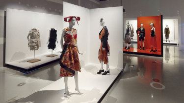 The 'virtual tour' of Collecting Comme at Melbourne's NGV.