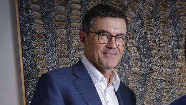 Sport Australia chair John Wylie.