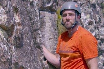 My Way on Channel Nine: Ryan Siacci (climber).
