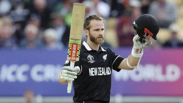 New Zealand skipper Kane Williamson's ton proved pivotal.