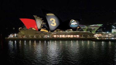 An image from the Racing NSW submission to the Opera House.