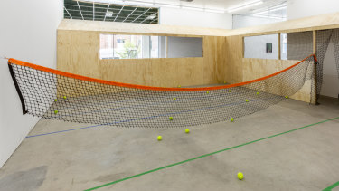 The Tennis Piece at Gertrude Contemporary.