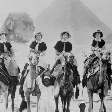 Nurses from the Australian General Hospital could explore Egypt on their days off.