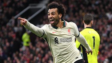 Mo Salah scores for Liverpool. Again.
