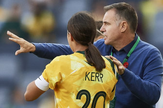 Ante Milicic and Sam Kerr's Matildas will now play qualifying in Nanjing.
