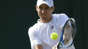 Matthew Ebden progressed to the third round of a grand slam for the first time.