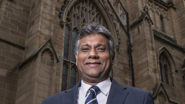 The Anglican dean of Sydney, Kanishka Raffel, will be sworn in as the archbishop later this month.