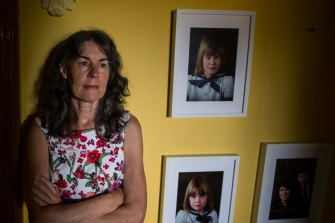Chrissie Foster's two daughters were abused by a Catholic priest.
