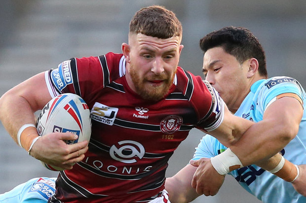 Wigan star Jackson Hastings will return to the NRL with Wests Tigers next season.