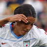 Sam Kerr's Red Stars crushed by Courage in NWSL final