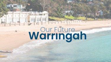A screenshot from the Our Future Warringah website.
