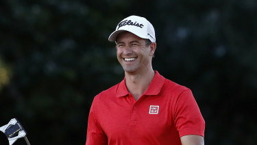 Adam Scott has drawn enormous praise from one of his fellow PGA professionals.