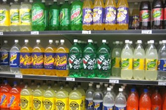 Sugary drinks are the largest contributor of added sugar in Australians' diets.