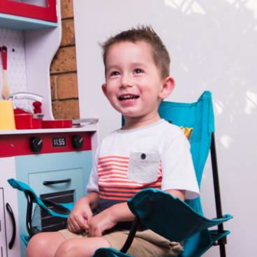 William McLennan has spinal muscular atrophy.
