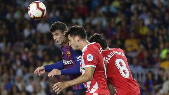 Global wrap: Gerard Pique rescues 10-man Barca to draw with Girona