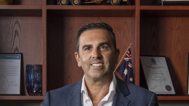"Sutherland Shire mayor Carmelo Pesce said he had grown into the role after initial doubts: ""For the first two weeks, I said to myself 'What have I done?' I was drowning,"""