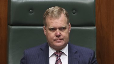 Speaker Tony Smith will step down from his role in November ahead of his retirement at the next election