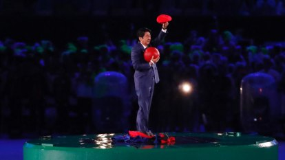'Let the Games ... wait for a while': Shinzo Abe's big call