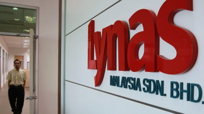 Trade tensions crimp China's demand for Lynas' rare earths