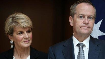 'We can't waste talent': Labor considers Julie Bishop for ambassador's role