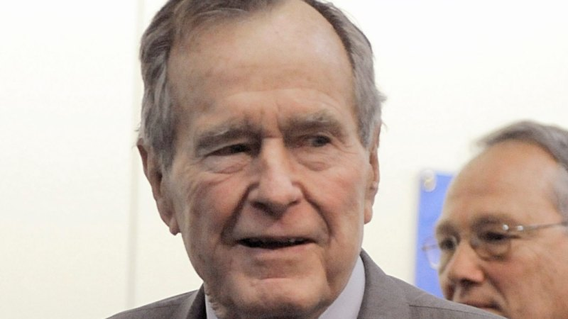 George H W Bush The 41st Us President Dies