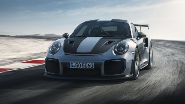 There's a queue of would-be owners keen to shell out upwards of $645,700 for the 911 GT2 RS.