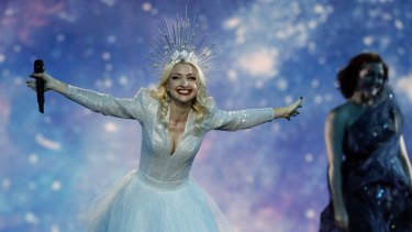 Kate Miller-Heidke was Australia's Eurovision entrant in 2019. The contest has been called off for 2020 due to the coronavirus outbreak.