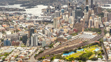 The 24-hectare Central Precinct will be the state's largest urban renewal project, surpassing Barangaroo.
