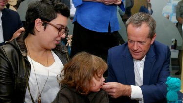 Bill Shorten has refused to rule out giving child care workers seeking $122,120 salaries a taxpayer wage subsidy.