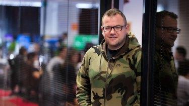 Kogan founder Ruslan Kogan has seen an increase in demand for laptops, freezers, and standing desks.