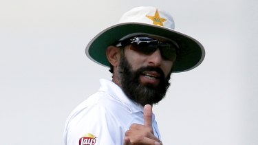 Former Pakistan's captan Misbah-ul-Haq, now the coach and head selector, is already under fire back home.