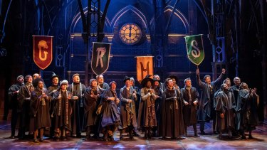 The decision to premiere Harry Potter and the Cursed Child in Melbourne came down to venue size.