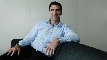 Incoming MYOB chief executive Greg Ellis was previously boss of REA Group and German real estate listings company Scout24.