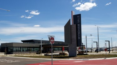 Wyndham Vale train station.