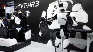 The Toyota T-HR3 humanoid robot.