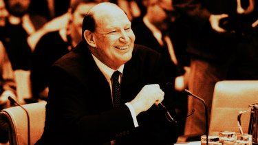 Kerry Packer's appearance during the 1991 print media inquiry was a tour de force.