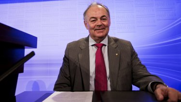 Australian judge James Spigelman is also a former chairman of the ABC.