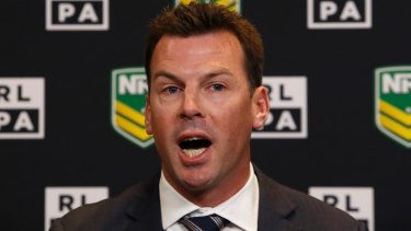State of the union: RLPA chief Ian Prendergast has been inept during the whole player behaviour saga.