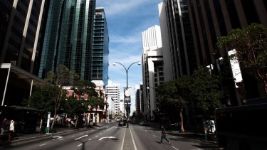 Perth companies have been urged to return staff to the CBD to help struggling businesses.