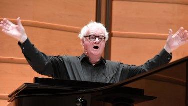 Conductor Richard Gill at the City Recital Hall.