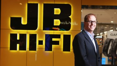 JB Hi-Fi chief executive Richard Murray.