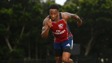 USA men's sevens player Carlin Isles is one to watch.