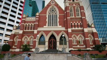 Albert Street Uniting Church will be one of the buildings open to the public at the weekend.
