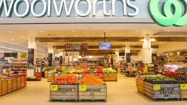 Woolworths supermarket at Double Bay.