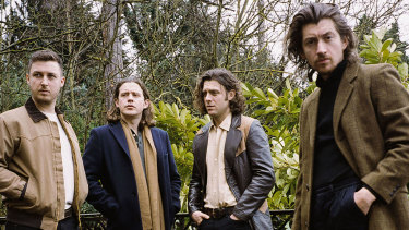 Arctic Monkeys were the highest ranked international artist.