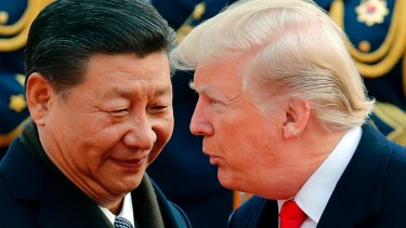 Trump with Chinese President Xi Jinping last year.
