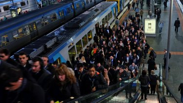 Transport is struggling to cope with population pressure.