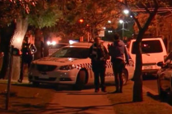 Police and SES combed the Mayer Park on Saturday night following the alleged attack.