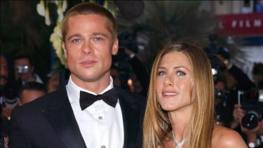 Brad Pitt and Jennifer Aniston in Cannes in 2004.