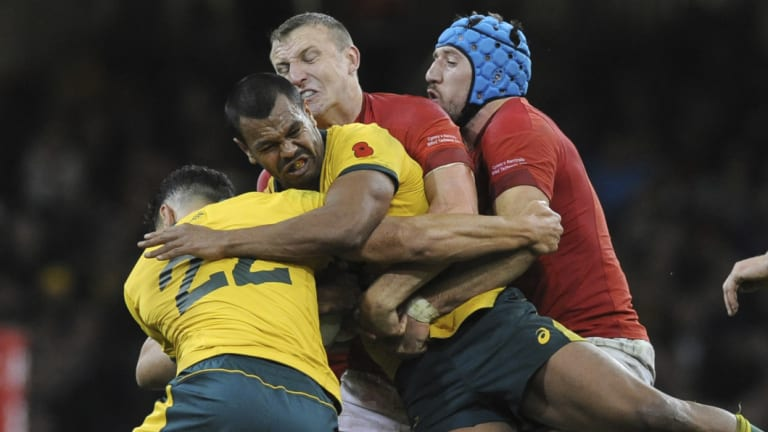It was a rare tryless Test match for the Wallabies.